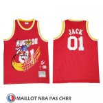 Maillot Houston Rockets X Cactus Jack Rouge
