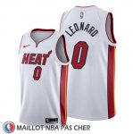Maillot Miami Heat Meyers Leonard Association Blanc
