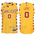 Maillot Cleveland Cavaliers LOVE #0 Jaune