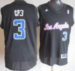 Maillot CP3 Los Angeles Clippers #3 Noir