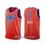 Maillot Oklahoma City Thunder Darius Bazley Statement Orange