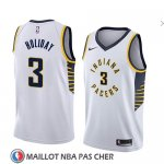 Maillot Indiana Pacers Aaron Holiday No 3 Association 2018 Blanc