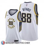 Maillot Indiana Pacers Goga Bitadze Association Blanc