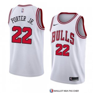 Maillot Chicago Bulls Otto Porter JR Association 2018 Blanc