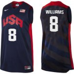 Maillot de Williams USA NBA 2012 Noir