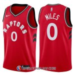 Maillot Tornto Raptors Cj Miles Icon 0 2017-18 Rouge