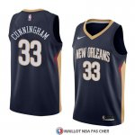 Maillot New Orleans Pelicans Dante Cunningham Icon 2018 Bleu