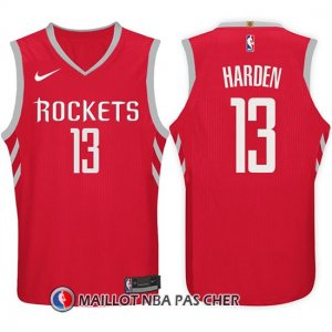 Maillot Houston Rockets James Harden 13 2017-18 Rouge