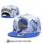 Casquette Golden State Warriors 9FIFTY Snapback Bleu Blanc