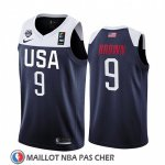 Maillot USA Jaylen Brown 2019 FIBA Basketball World Cup Bleu