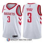 Maillot Enfant Houston Rockets Chris Paul Association 2017-18 3 Blanc