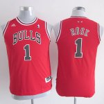 Maillot Enfant de Rouge Rose Chicago Bulls Revolution 30