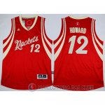 Maillot Howard Rockets Noel #12 Rouge