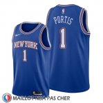 Maillot New York Knicks Bobby Portis Statement Bleu