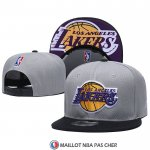 Casquette Los Angeles Lakers 9FIFTY Snapback Gris