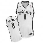 Maillot Blanc Williams Brooklyn Nets Revolution 30