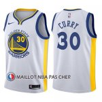 Maillot Enfant State Golden State Warriors Stephen Curry Blanc