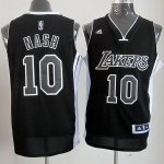 Maillot Steve Nash Los Angeles Lakers #10 Noir