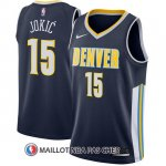 Maillot Denver Nuggets Carmelo Anthony 2017-18 15 Bleu
