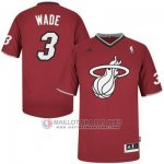 Maillot Wade Miami Heat #3 Rouge