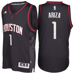 Maillot Alternate Black Space City Rockets Ariza 1 Noir