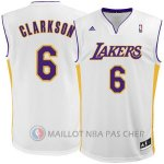 Maillot Los Angeles Lakers Clarkson #6 Blanc