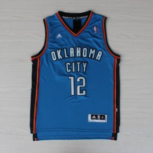 Maillot Bleu Adams Oklahoma City Thunder Revolution 30