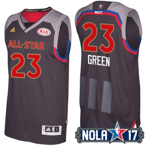 Maillot All Star 2017 Warriors Green 23
