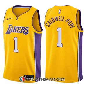 Maillot Los Angeles Lakers Kentavious Caldwell Pope Swingman Icon 1 2017-18 Or