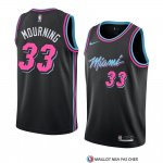 Maillot Miami Heat Alonzo Mourning Ville 2018-19 Noir