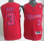 Maillot Paul Los Angeles Clippers #3 Rouge