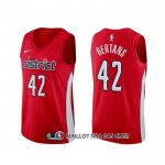 Maillot Washington Wizards Davis Bertans Earned Rouge