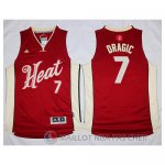 Maillot Miami Heat Dragic Noel #7 Rouge