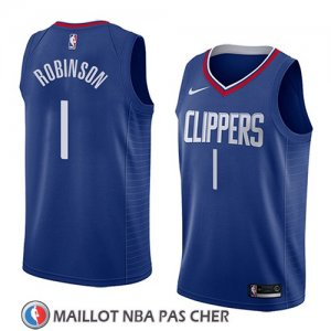 Maillot Los Angeles Clippers Jerome Robinson Icon 2018 Bleu