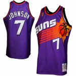 Maillot Retro Suns Johnson 7 Pourpre