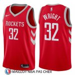 Maillot Houston Rockets Brandan Wright 32 Icon 2017-18 Rouge