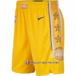 Short Los Angeles Lakers Ville Jaune