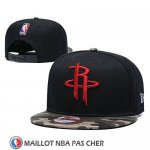 Casquette Houston Rockets Snapback Noir