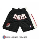 Short Portland Trail Blazers Just Don Noir
