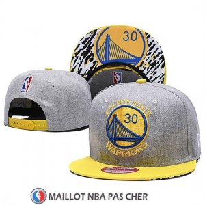 Casquette Golden State Warriors 9FIFTY Snapback Gris