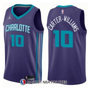 Maillot Charlotte Hornets Michael Carter Williams Statement 10 2017-18 Volet