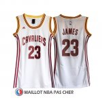 Maillot Femme Cleveland Cavaliers James 23 Blanc