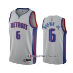 Maillot Detroit Pistons Bruce Marron Jr. Statement 2020-21 Gris