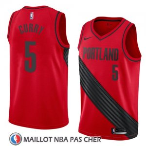 Maillot Portland Trail Blazers Seth Curry Statement 2018 Rouge