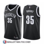Maillot Brooklyn Nets Kevin Durant Icon 2019-20 Noir