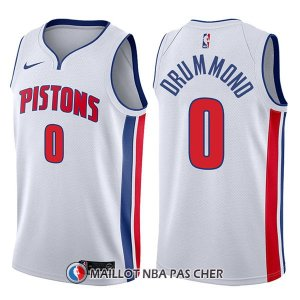 Maillot Detroit Pistons Andre Drummond Association 0 2017-18 Blanc