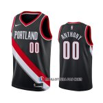 Maillot Portland Trail Blazers Carmelo Anthony Icon Noir