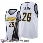 Maillot Indiana Pacers Jeremy Lamb Earned Blanc