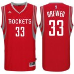Maillot Rockets Brewer 33 Rouge