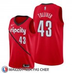 Maillot Portland Trail Blazers Anthony Tolliver Earned Rouge